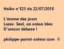 Haïku n°523  220718
