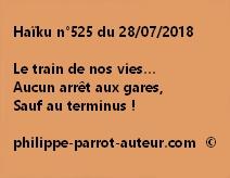 Haïku n°525  280718