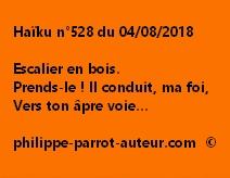 Haïku n°528  040818