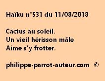 Haïku n°531  110818