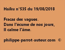 Haïku n°535  190818