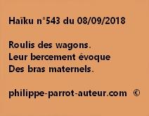 Haïku n°543  080918