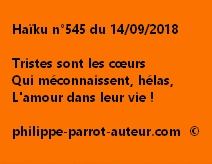 Haïku n°545  140918