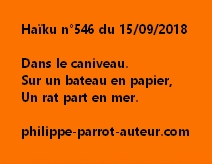 Haïku n°546  150918