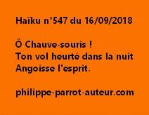Haïku n°547 160918