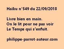 Haïku n°549  220918