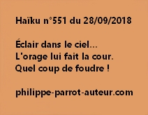 Haïku n°551  280918