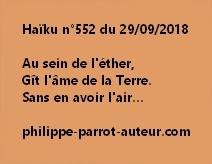 Haïku n°552  290918