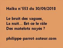Haïku n°553  300918