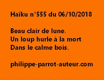 Haïku n°555  061018