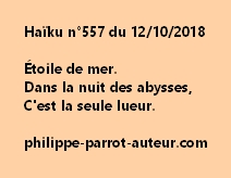 Haïku n°557  121018