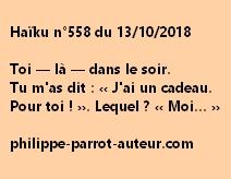 Haïku n°558  131018