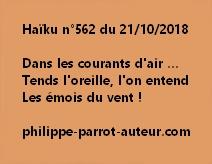 Haïku n°562  211018