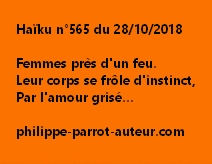 Haïku n°565  281018