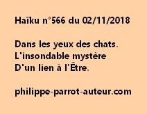 Haïku n°566  021118