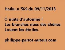 Haïku n°569  091118
