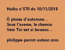 Haïku n°570  101118