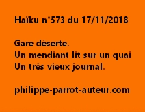 Haïku n°573 171118