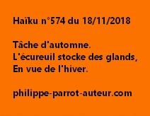 Haïku n°574 181118