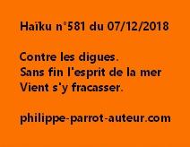 Haïku n°581  071218