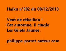 Haïku n°582  081218
