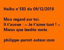 Haïku n°583  091218