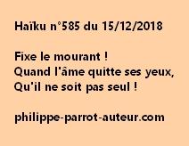 Haïku n°585  151218