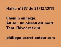 Haïku n°587  211218