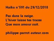 Haïku n°591  291218