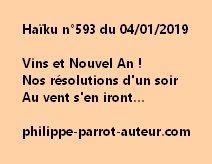 Haïku n°593  040119