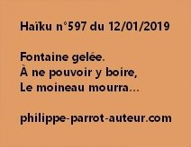 Haïku n°597  120119