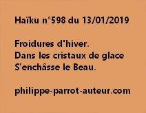 Haïku n°598  130119