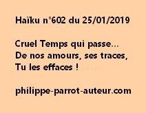 Haïku n°602  250119