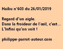 Haïku n°603  260119