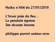 Haïku n°604  270119