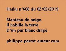 Haïku n°606  020219