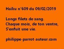 Haïku n°609  090219