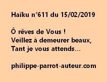 Haïku n°611  150219