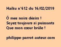 Haïku n°612  160219