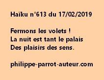 Haïku n°613  170219