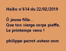 Haïku n°614  220219