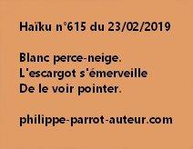 Haïku n°615  230219