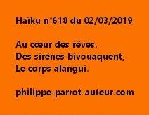 Haïku n°618  020319