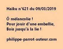 Haïku n°621  090319