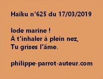 Haïku n°625  170319