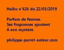 Haïku n°626  220319