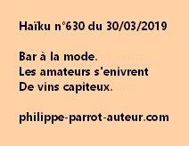 Haïku n°630  300319
