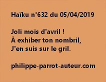 Haïku n°632  050419