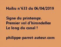 Haïku n°633  060419