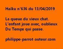 Haïku n°636  130419